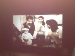 Chokri Belaïd im Kreis seiner Familie (Film Habib Mestiri)