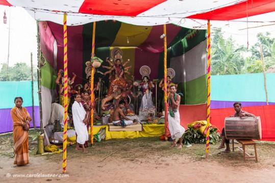 Durga Puja Altar
