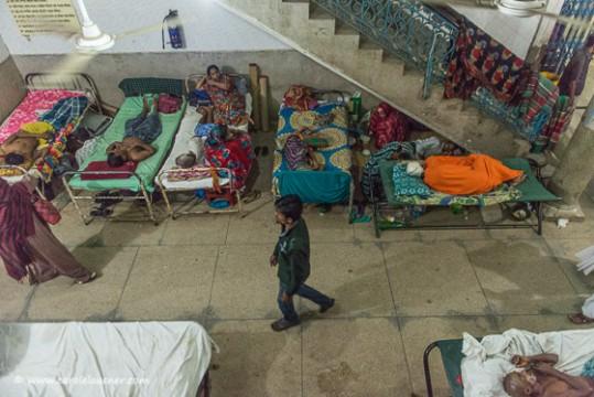 Bei diesem Anblick hoffe ich, dass ich in Bangladesch nicht ernsthaft krank werde.