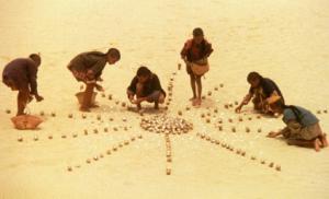 """Filmstill """"les baliseurs du désert"""" von Nacer Khemir"""