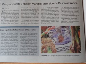 Mandela wird fälschlicherweise für tot erklärt.