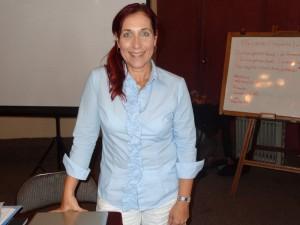 Journalistin Mc Nelly Torres hat mit ihren Publikationen schon Leute hinter Gitter gebracht.