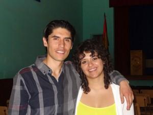Die beiden Berater vor Ort Daniel und Mariana freuen sich über den erfolgreich Abschluss des Projektes.