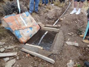 Das Dorf Torre Huayco verfügt erst seit kurzem über sauberes Trinkwasser.