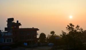 Sonnenaufgang in Nagarkot