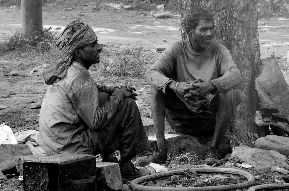Indische Teerarbeiter in Ekantakuna. III