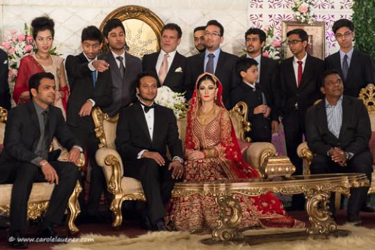 Shakib Al Hasan, Bangladesch's bester Cricketspieler und seine Frau Umme Ahmed Shishir feiern das 1-jährige Hochzeitsjubiläum.