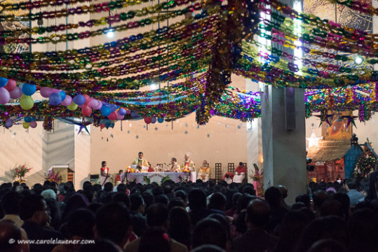Mitternachtsmesse in der Tejgaon Church in Dhaka.