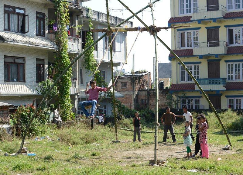 Dashain-Schaukel