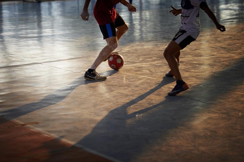 Hallenfussball erfreut sich grosser Beliebtheit