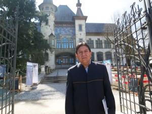 Der bolivianische Aussenminister im April in Bern.