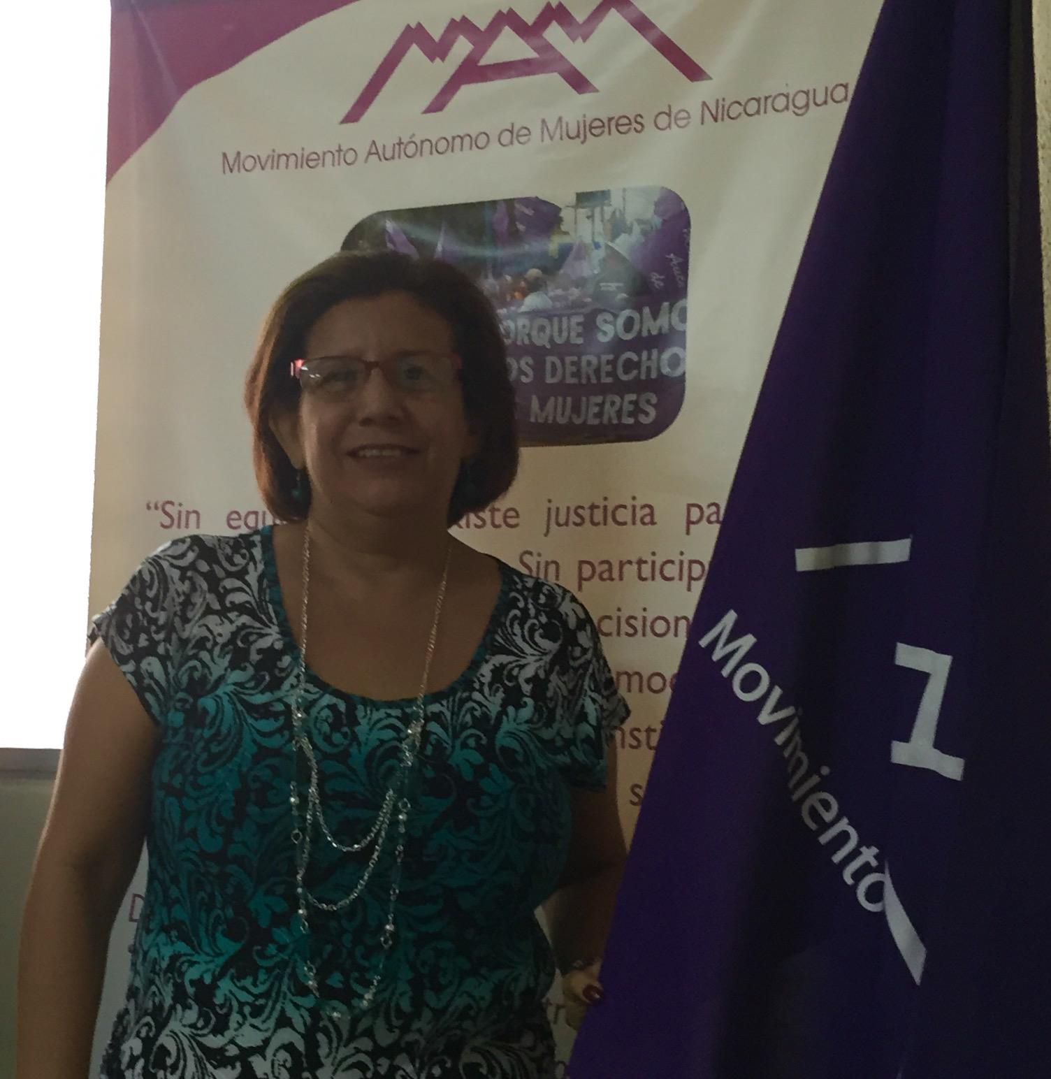 Juanita Jiménez, fondatrice du Mouvement autonome des femmes du Nicaragua