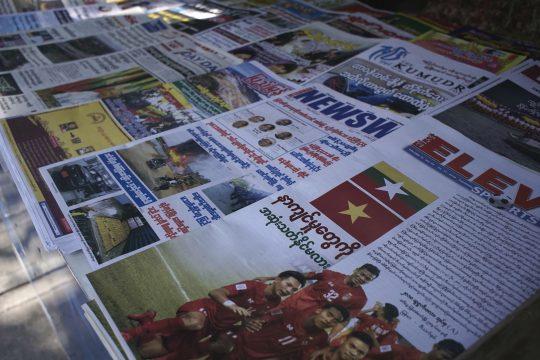 Privatzeitungen sind ein Novum.