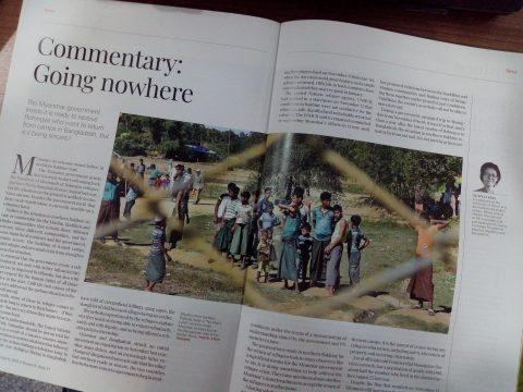 Artikel im Magazin Frontier über Rohingyas
